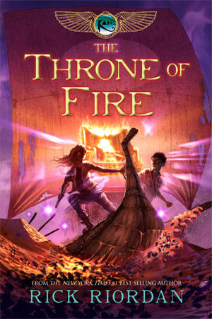 Mini Review: The Throne of Fire